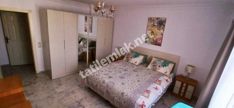 ALANYA MAHMUTLAR EURO RESIDENCE 3 FOR RENT 2+1 APARTMENT